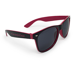 Black/Pink Sun Ray Sunglasses Thumbnail
