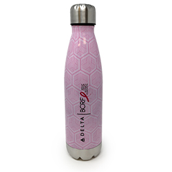 20oz Pink Stainless Steel Bottle Thumbnail