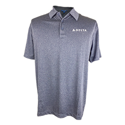 Men's Trace Heather Polo Thumbnail