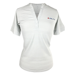 Ladies Strata Textured Polo Thumbnail