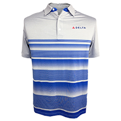 Men's Stripe Polo Thumbnail