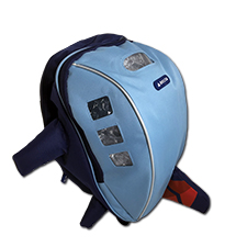 Airplane Backpack Blue Thumbnail