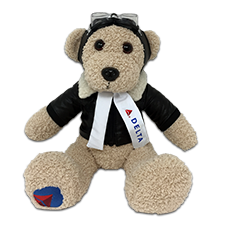 Delta Air Lines teddy bear, Widget Thumbnail