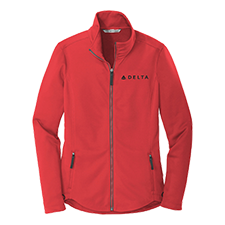 Ladies Smooth Fleece Jacket Thumbnail