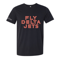 Fly Delta Jets Tech Ops T-Shirt Thumbnail