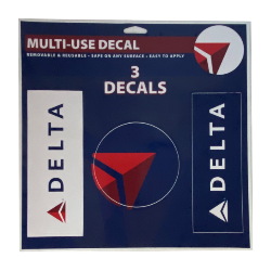 3 Pack Delta Decals Thumbnail