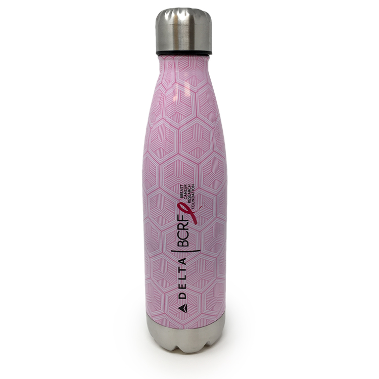 20oz Pink Stainless Steel Bottle