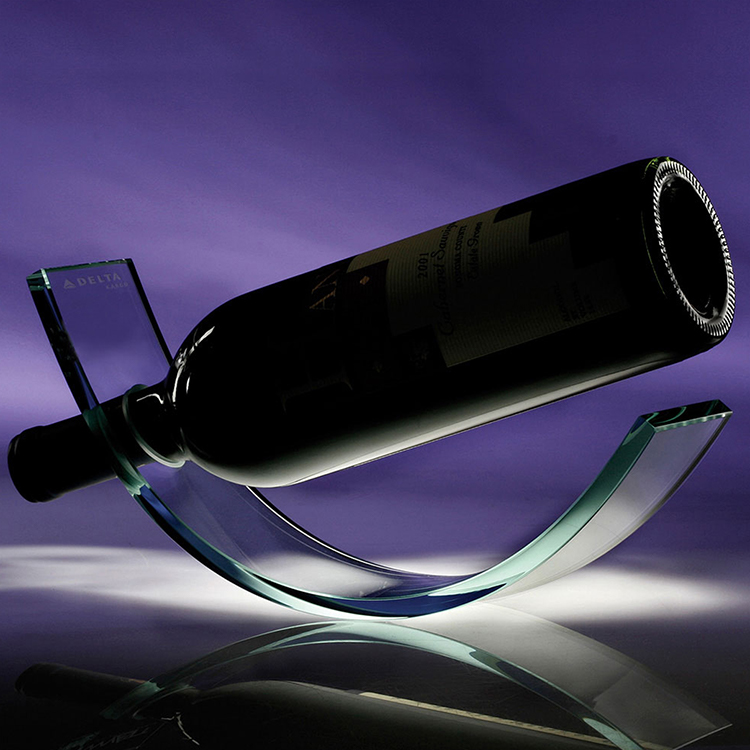 Crystal Wine Cradle