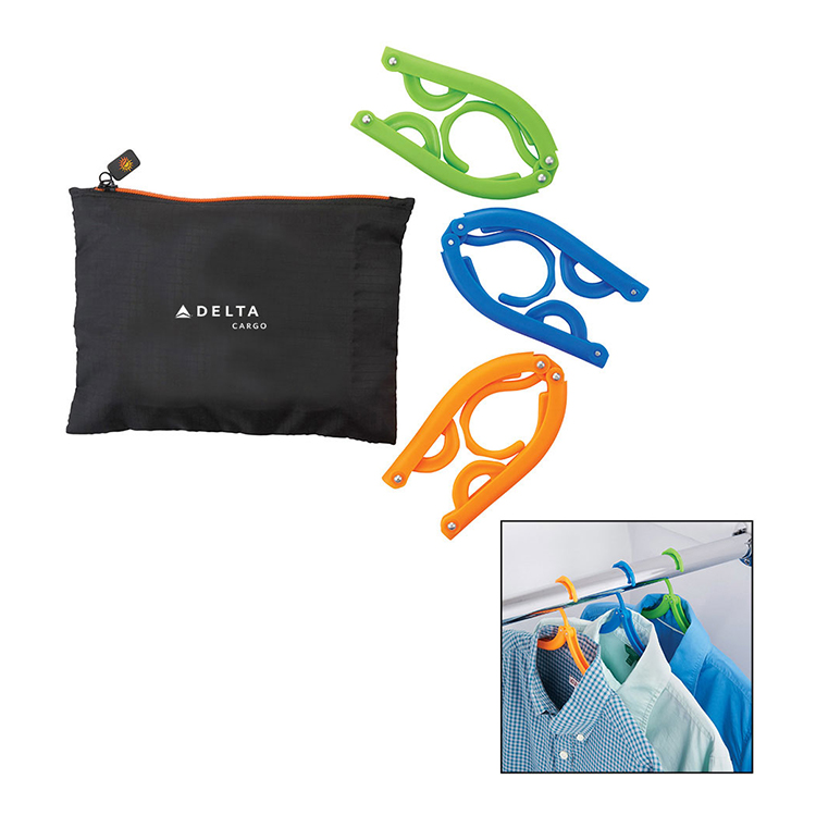 Bright Travels Clothes Hangers Travel Set
