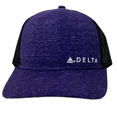 Passport Plum Trucker Cap