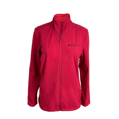 Ladies Cinched Waist Soft Shell Jacket