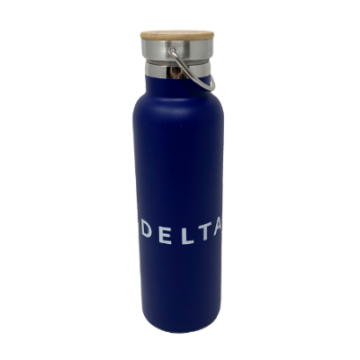 21oz Stainless Bottle w/Wood Lid