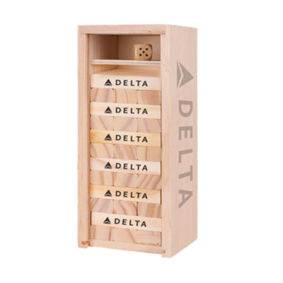 Delta Tumbling Tower Game
