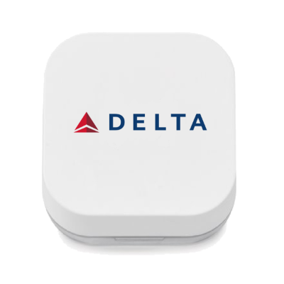 Delta Talon Earbuds in Charging Box