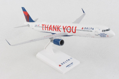 "Delta SkyMarks Delta A321 ""Thank You"" 1/150 Scale Model"