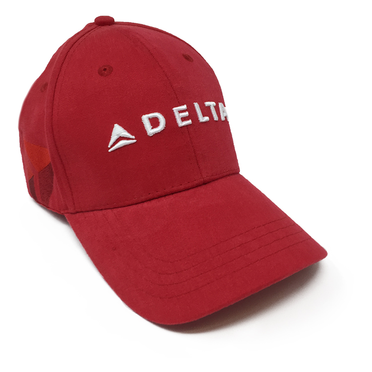 Red Supergraphic Hat