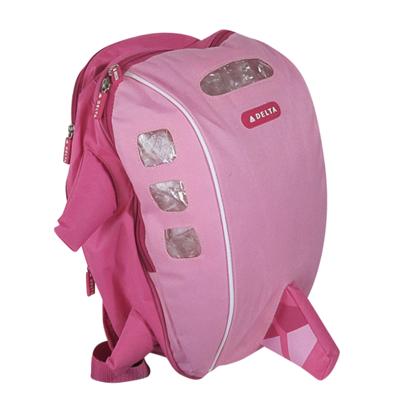 Airplane Backpack Pink