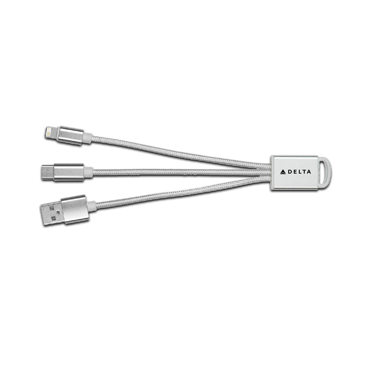 Connect Plus 3-IN-1 Charging Cable