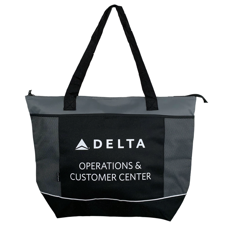 Insulated Cooler Tote - Grey