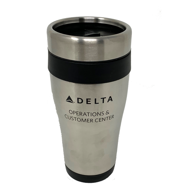 16 oz. Stainless Steel Tumbler - Black