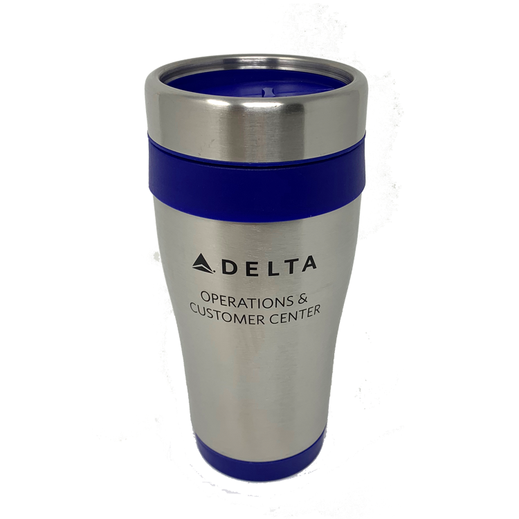 16 oz. Stainless Steel Tumbler - Blue