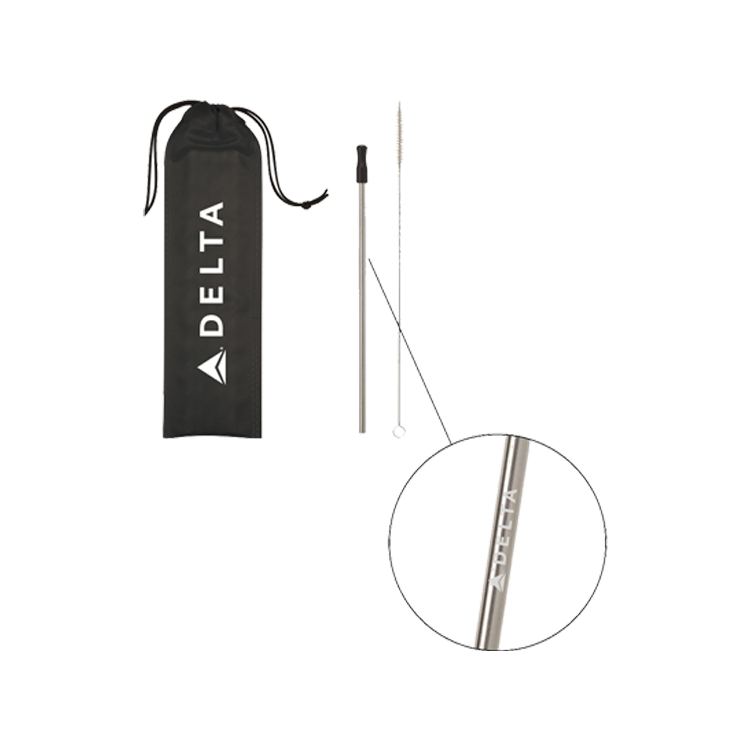 Stainless Steel Straw Kit